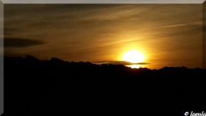 Sonnenuntergang am Strand Nov 2015